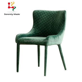 High Quality Guangzhou Modern Restaurant Upholstered Dining Chairs Fabric
