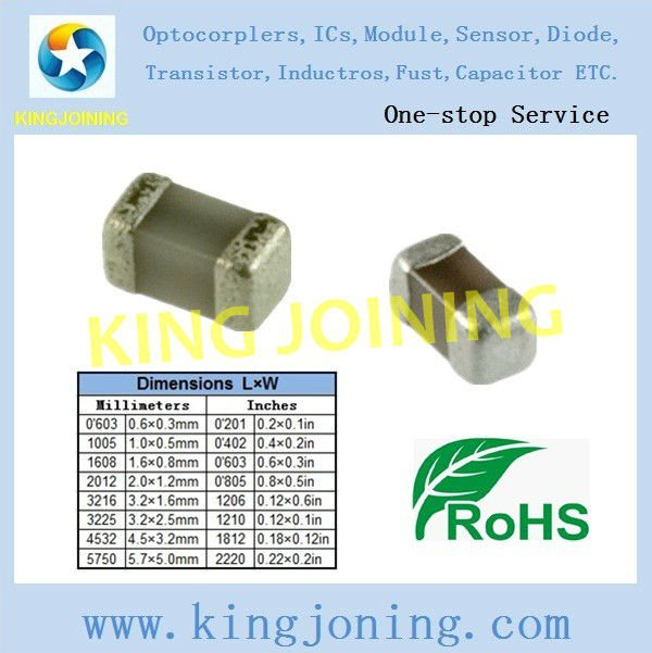 chip Ceramic Capacitors 1206 47UF 6.3V Y5V SMD 1206