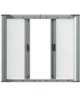 Aluminium screen door buy aluminum screen door diy for Invisible fly screen doors