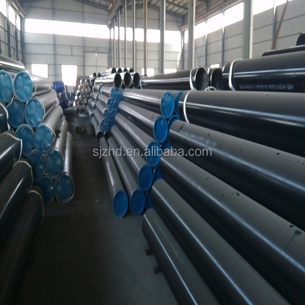 High quality and low price oil steel ANSI black pipe/steel pipeline