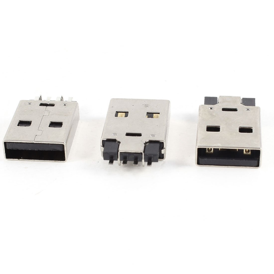 Cheap Smd 3 5mm Jack Pin Find Deals On Line Wiring Get Quotations Uxcell Pcs Usb Male Type A Right Angle 4 Smt Soldering