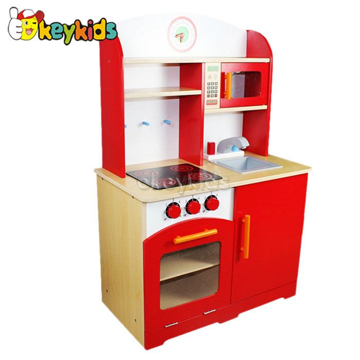 2016 wholesale baby wooden kitchen set toy cheap kids for Cheap kids kitchen set