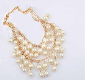 2015 Summer Hot Sale Elegant Fashion Pearl Necklace For Wedding Jewelry