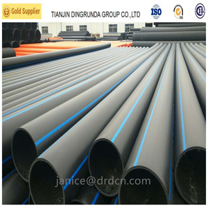 Chinese manufacturer HDPE water pipe price hdpe pipe sizes DN 20mm - 1000mm