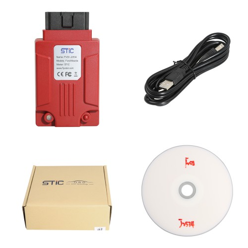 2018 Newest scvi version J2534 Diagnostic Tool for Ford & for  Mazda Support Online Module Programming