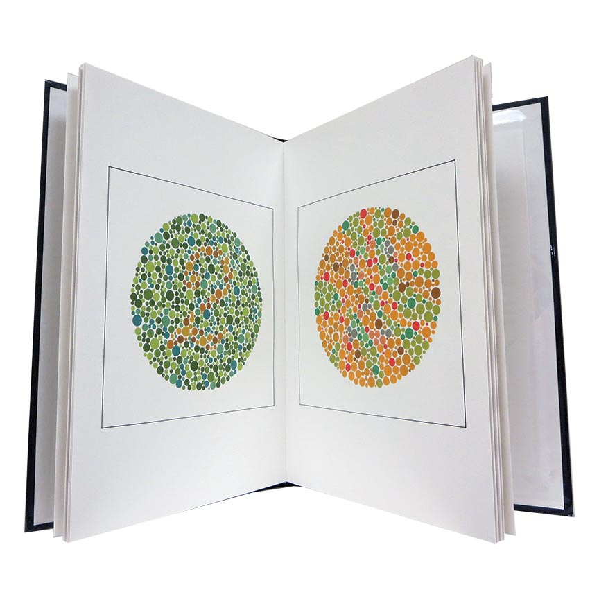 personalized printing color blind book test custom book