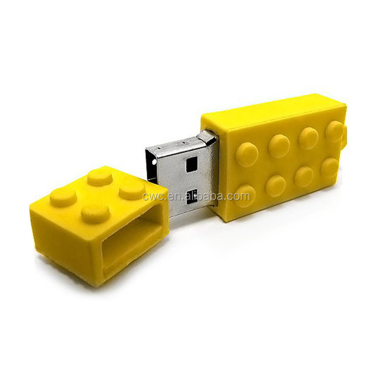 Hot sale toy block/building block usb flash drive for promotion 2GB-32GB