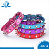 Factory Hot Sell Rivets Studded PU Leather Dog Training Collar Wholesale