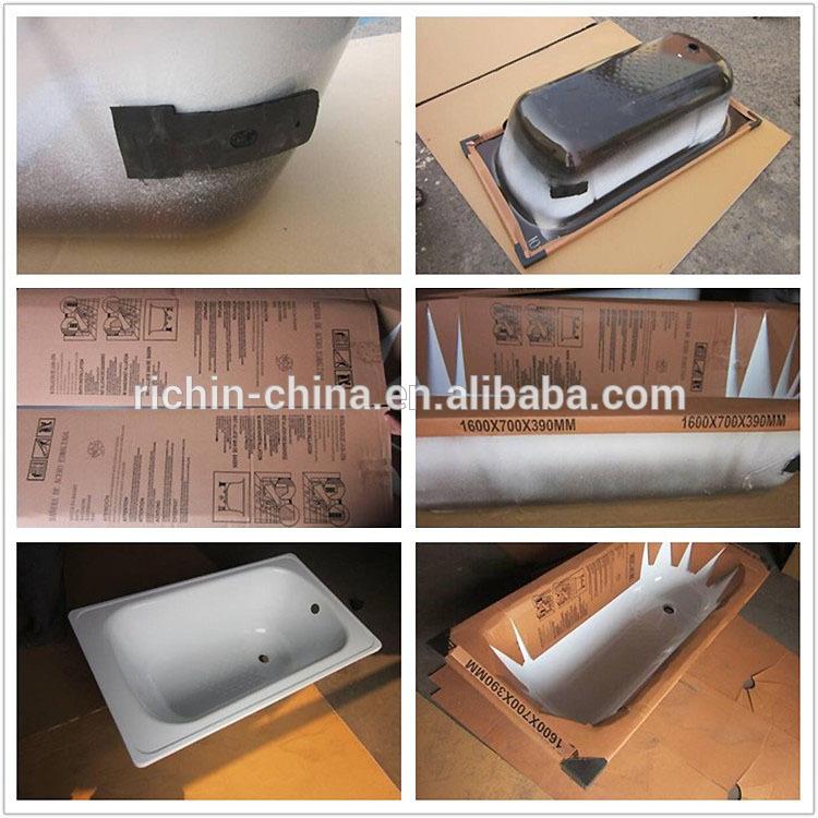 Vasca da bagno standard dimensioni di alta qualit in metallo acciaio smaltato vasca da bagno - Vasca da bagno dimensioni ...