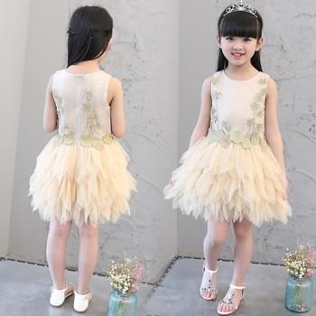 aab426dac New Goods Girls Party Wear Western Wedding Dress For Kids - Buy Girl ...