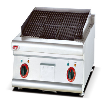 Counter Top Commercial Restaurant Kitchen Electric Lava Rock Grill - Buy  Electric Barbecue Grill With Lava Rock,Electric Lava Stone Grill,Smokeless  ...