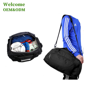 KID custom design your own fabric sling ball gym sport bag