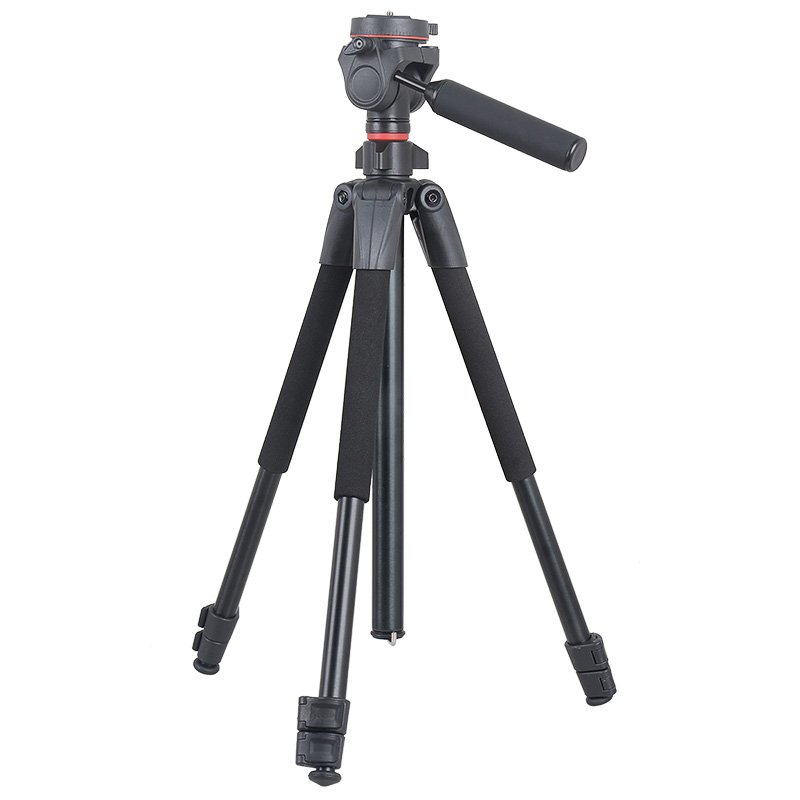 Factory price fast delivery professional aluminum alloy portable photo shooting light hunting camera tripod stand