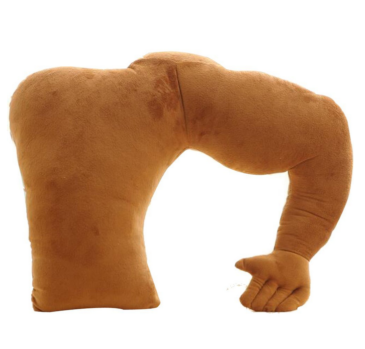 Muscle Man Body Arm Plush Cotton Boyfriend Pillow