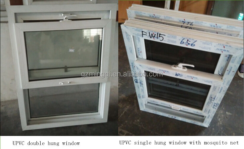 upvc double hung windows pvc single hung window