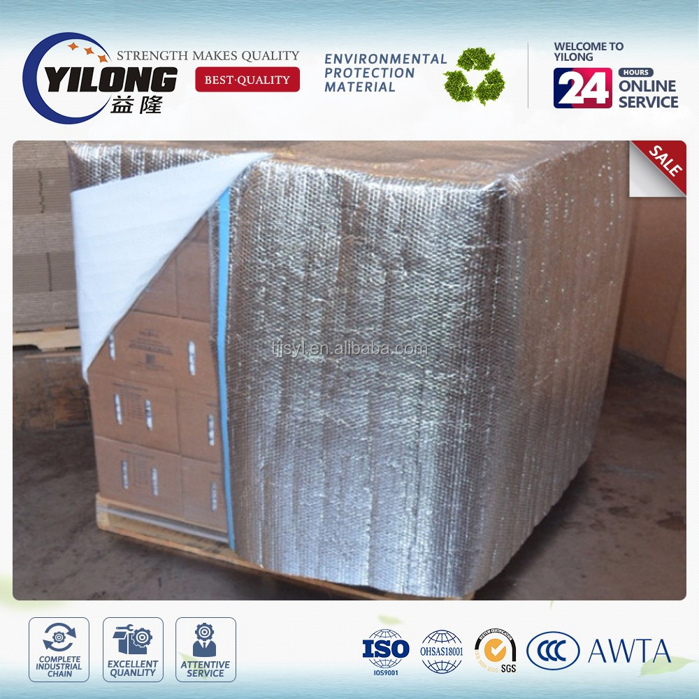 Four sided Thermal shielding Insulated Pallet cover