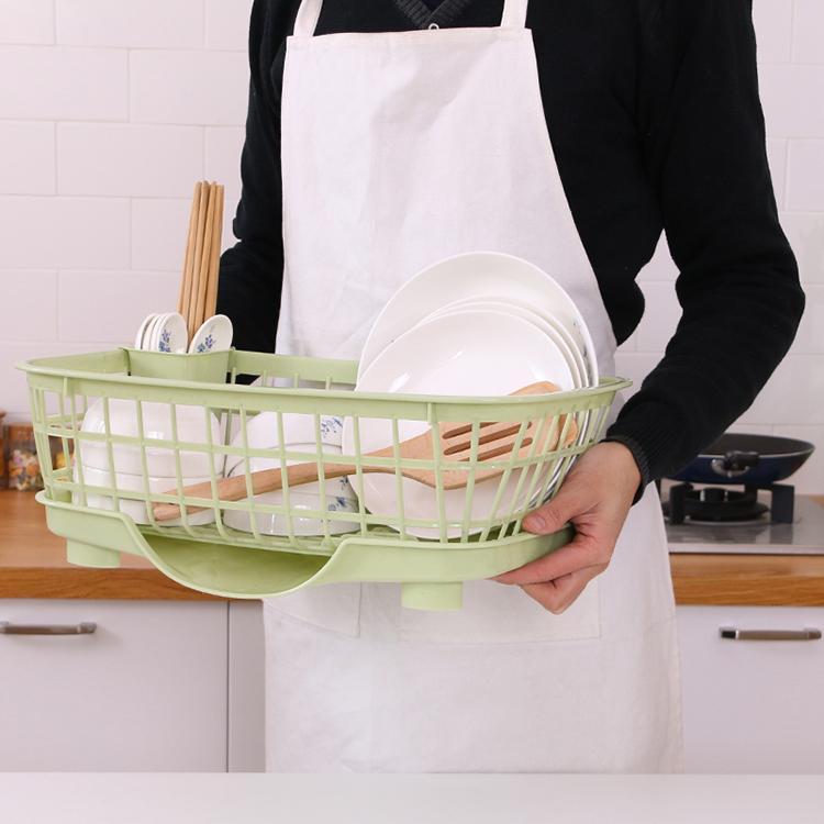 Wholesale Kitchen Drying Plastic Dish Rack