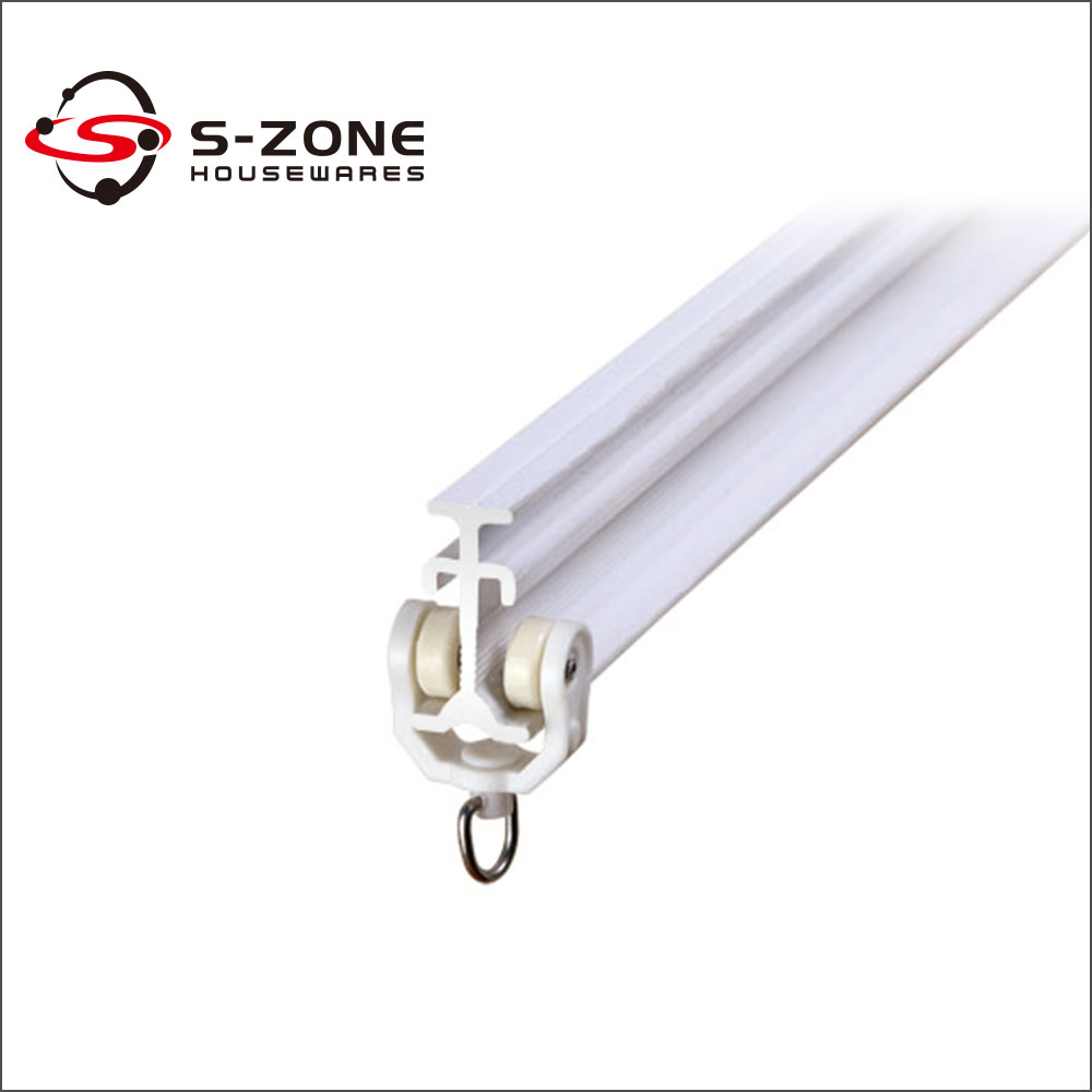 Perfect Cheap Price Plastic Curved Pvc Sliding Curtain Track Ceiling Curtain Rail