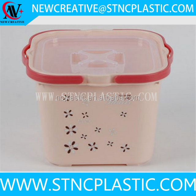 Plastic Rice Storage Containers With Handle Plastic Rice Storage