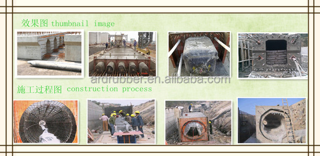 Culvert Balloon For The In-situ Cast Of Concrete Pipelines