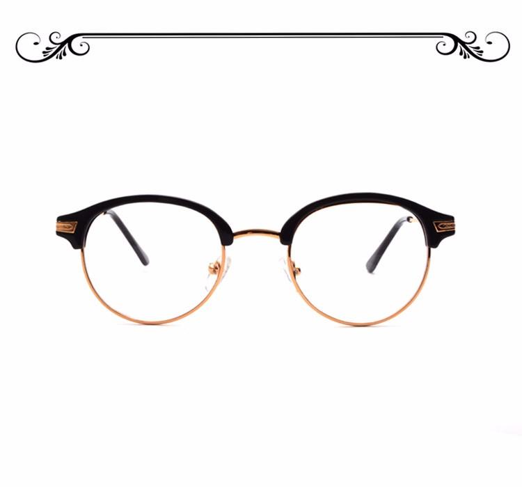 Klassische Retro Raum-objektiv Cateye Rahmen Gläser Mode Marke ...