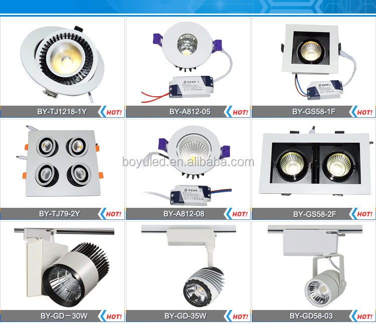 wholesale price 30w 3000ml luminaire LED track light cheap india price track lighting