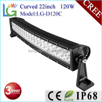 12 Volt Led Light Bar With Ip68 Waterproof Offroad 22inch 120w ...