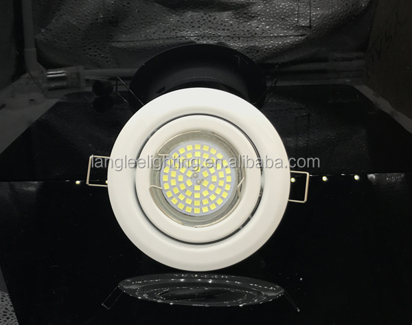 Iron Lamp Holder LED Ceiling Light Frame for GU10 and MR16