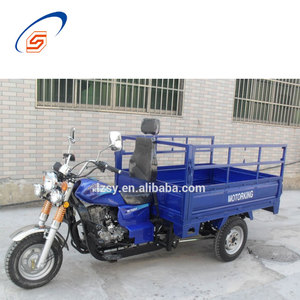 LZSY Big Factory Export Cargo Motorcycle 200CC With Rear Durable Cabin Made In China
