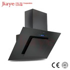 Hot selling tempered glass range hoods/kitchen smoke cooker hood with aluminum Filters for dubai