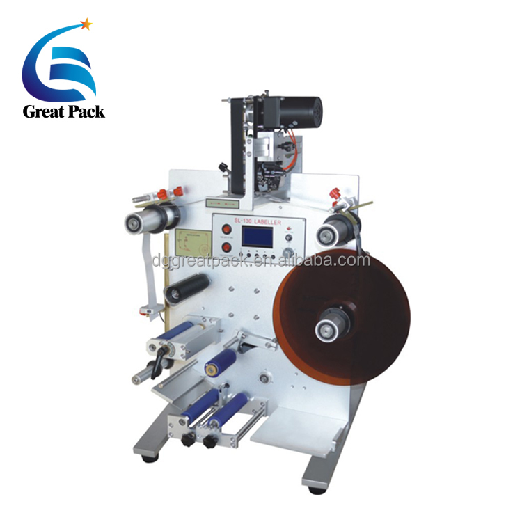 Vertical Front And Back Labeling Machine For Wine Bottle