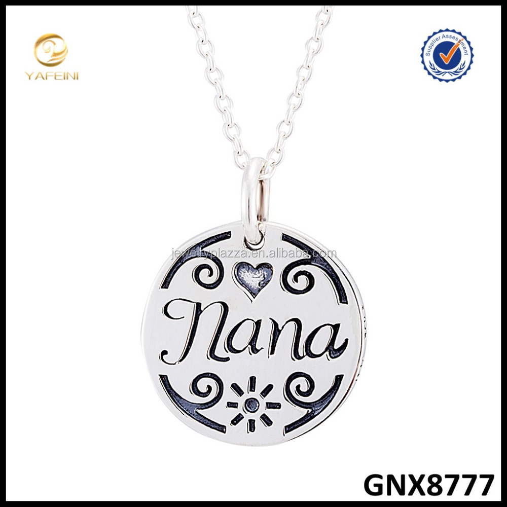 swarovski a pendants swirl diamond cz dancing s on box solid with adjustable silver sterling carat center necklace quot nana chain amp pendant
