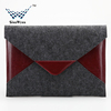 Hot Sale Wool Felt Case for iPad Pro Meaage Style Wool Felt Laptop Sleeve