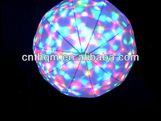 Wholesale multicolored decoration inflatable led balloon