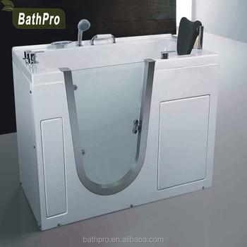 Whirlpool Wassermassage Whirlpool Mit Begehbarer Badewanne Mit