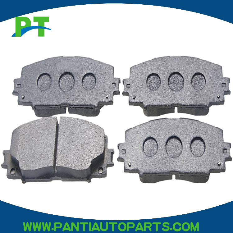 0446547070 for Front Toyota Corolla ae82 2006 Ceramic brake pads