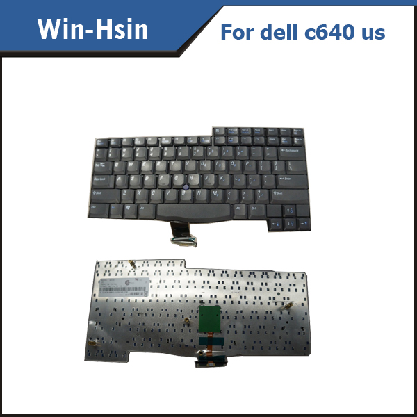 Laptop keyboard For Dell Latitude C540 C640 Replacement Keyboard 8P641 08P641