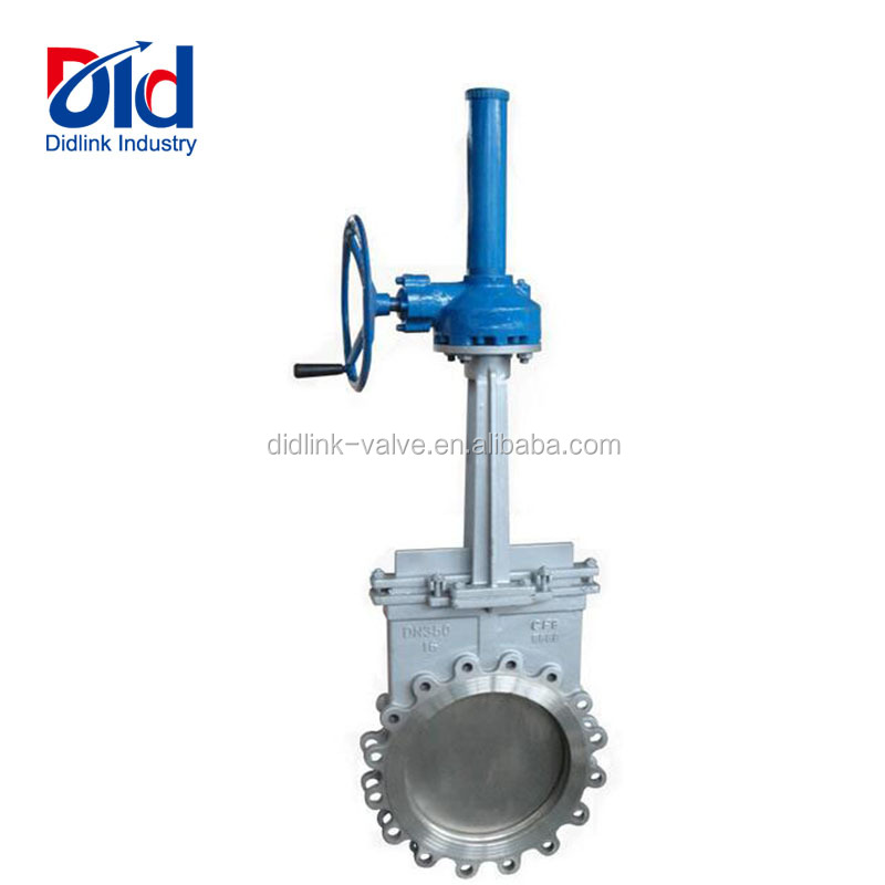 "Working 150 Ul Fm Honey 12 Inch 2"" 36 4 5"" 6 8 Cast Iron Cf8 16 Knife Gate Valve With Belvel Gear"