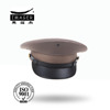 Military army officer peaked cap with plain style