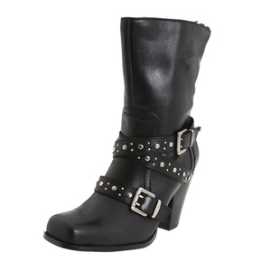 Motorbike Boots/Motorcycle Boots China/Leather Buckle Boot