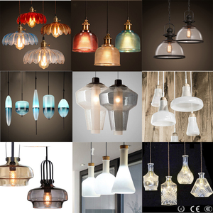 Wholesale European style wisteria pendant lamps tiffany stained glass hanging lamps
