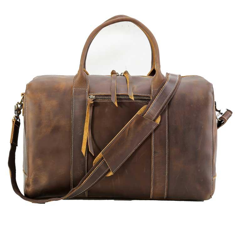 05e71aa075 China Vintage Leather Travel Bag