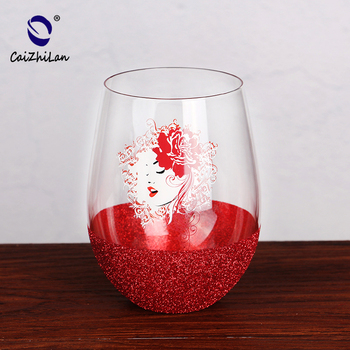 W926 Factory Price Fast Delivery Pink Wine Glasses