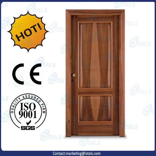 Modern fancy carving simple solid wood main door designs for Simple main door design