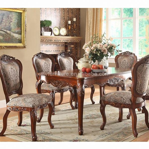 antique french provincial dining room furniture, antique french