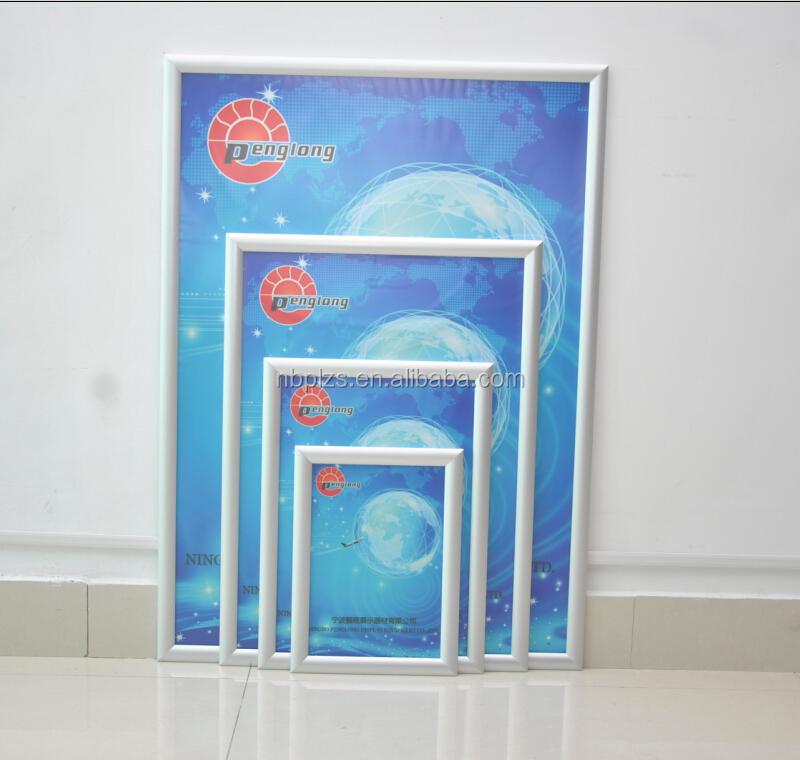 Imagen marcos clip A1 cartel de aluminio Snap marco abierto marco ...