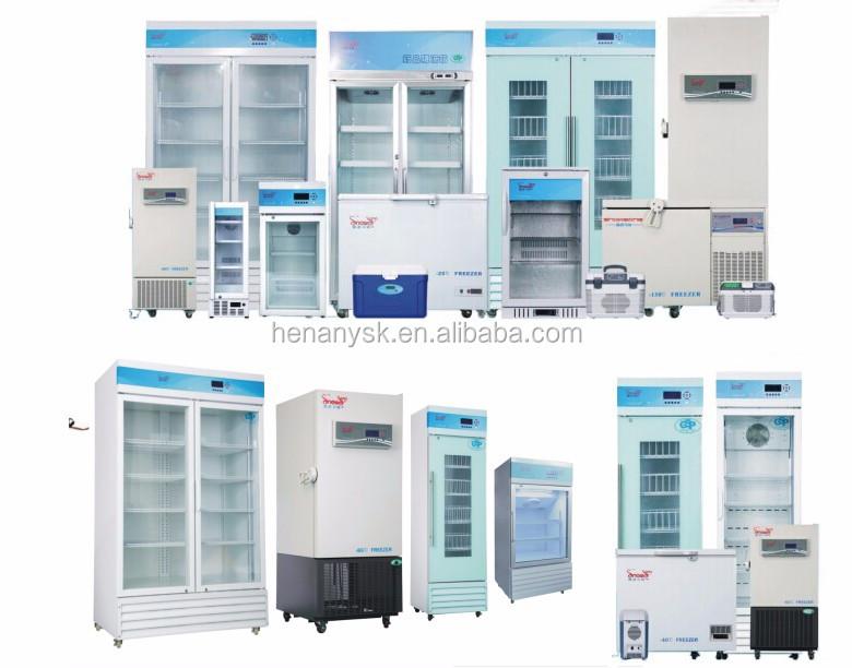 -45~-86 Degree Ultra Low Temperature Compressor Type Lab Hospital Freezers