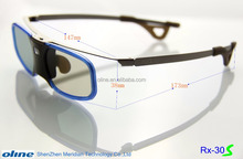 Hot Sale DLP link 3d glasses RX-30S with 96-144Hz cheap glasses online for samsung ssg-5100gb