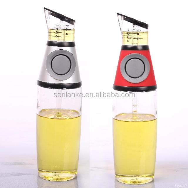 Kitchen Creative Press Measure Oil Dispenserglass And Vinegar Rhalibaba: Oil Dispenser Bottle For Kitchen At Home Improvement Advice