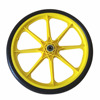 20inch bike/bicycle trailers wheels pu foam wheel